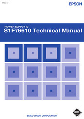 Epson S1F76610 series Technical Manual