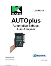 Kane 455 infra-red analyser.