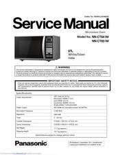 Panasonic Nn Ct641m Service Manual Pdf