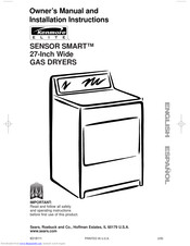 Kenmore Sensor smart electric dryer Owner's Manual And Installation Instructions