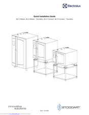 Electrolux Air-O-Convect Quick Installation Manual