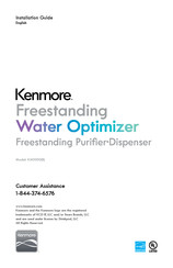 Kenmore KM1000 Installation Manual