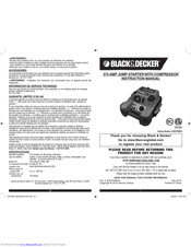 Black & Decker JUS375IBCA Instruction Manual