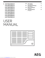 AEG AXP35U538CW User Manual