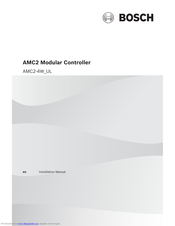 Bosch AMC2 Series Installation Manual