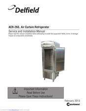 [SCHEMATICS_4FD]  Delfield ACR-26S Manuals | ManualsLib | Mcii Delfield Freezer Wire Diagram |  | ManualsLib