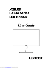 Asus PA24A Series User Manual