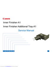 Canon Inner Finisher Additional Tray-A1 Service Manual