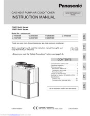 Panasonic 3WAY Multi Series Instruction Manual