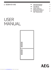 AEG SDB41611AS User Manual
