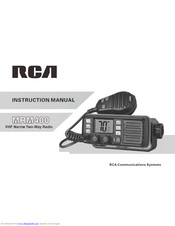 RCA MRM400 Instruction Manual