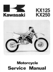 Kawasaki KX125 1991 Service Manual