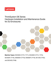 Lenovo DE2000H Hardware Installation And Maintenance Manual