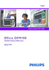 Philips Efficia DFM100 Instructions For Use Manual