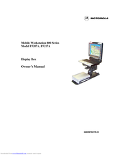 Motorola F5207A, F5217A Owner's Manual