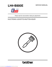 Brother LH4-B800E Service Manual