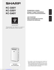 Sharp KC-G50Y Operation Manual