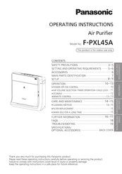 Panasonic F-PXL45A Operating Instructions Manual