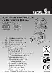 Char Broil Patio Bistro 240 Manuals