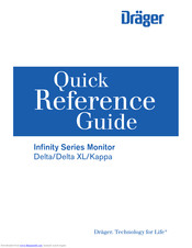 Dräger Infinity Kappa Quick Reference Manual