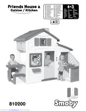 Smoby Friends House Cuisine Kitchen Manuals