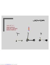 Joyor Y5S Manuals