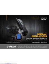 Yamaha HAIBIKE SDURO FullNine RC Original Instructions Manual