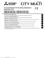 Mitsubishi Electric CITY MULTI CMB-WP1016V-GB1 Installation Manual