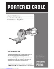 Porter Cable Pce380 Manuals Manualslib