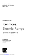 Kenmore 790.9261 Series Use & Care Manual