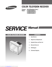 Samsung CS25M20SSNSKLG Service Manual