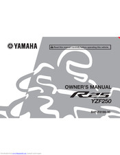 Yamaha R25 Series Owner's Manual