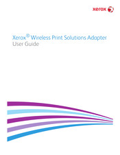 Xerox Wireless Print Solutions Adapter User Manual