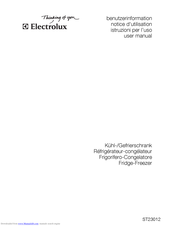 Electrolux ST23012 User Manual