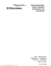 Electrolux ST 401 CNN User Manual