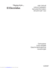 Electrolux GA553IF User Manual