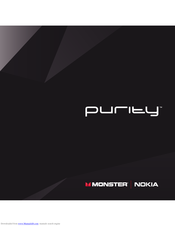 Nokia Purity WH-920 Manual