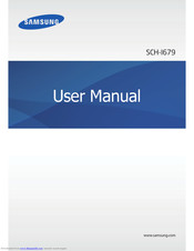 Samsung SCH-I679 User Manual