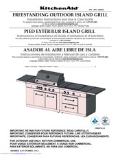 KitchenAid 1900645 Installation Instructions And Use & Care Manual