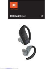 Jbl Endurance Peak Quick Start Manual Pdf Download Manualslib