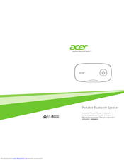 Acer X5 Instruction Manual