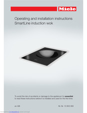 Miele SmartLine CS 7611 Operating And Installation Instructions