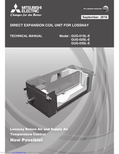 Mitsubishi Electric GUG-01SL-E Technical Manual