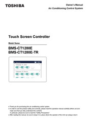 Toshiba BMS-CT1280E Owner's Manual