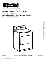 Kenmore Sensor smart electric dryer Use And Care Manual
