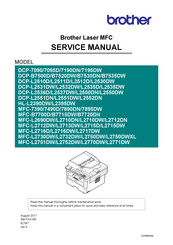Brother MFC-B7700D Service Manual
