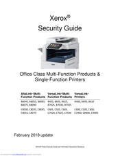 Xerox VersaLink B610 Security Manual