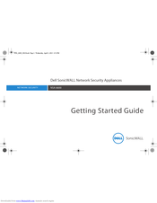 Dell SonicWALL NSA 6600 Getting Started Manual