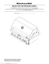 KitchenAid 750-0781GH Installation Instructions And Use & Care Manual