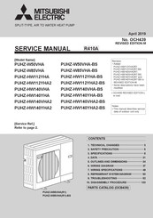 Mitsubishi Electric PUHZ-HW112YHA2R6 Service Manual